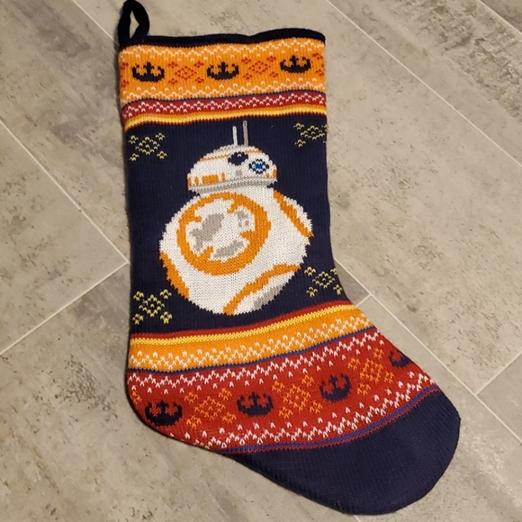 Star Wars Other - Sweater Navy Star Wars Christmas Stocking
